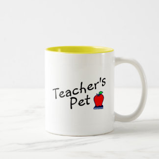 Teachers Pet Apple Two-Tone Coffee Mug