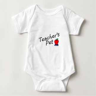 Teachers Pet Baby Bodysuit