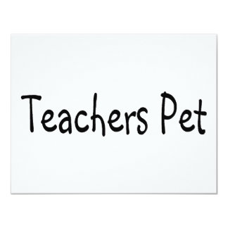 Teachers Pet Card