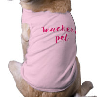 Teacher's pet dog top
