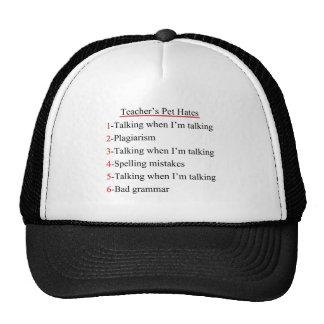Teachers Pet Hates 1 Trucker Hat