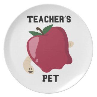 Teachers Pet Dinner Plates