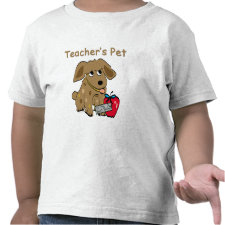 Teacher's Pet T-shirt