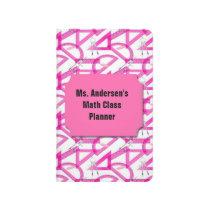 Teachers Pink Math Tools Pocket Journal