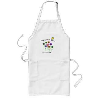 Teacher's Plant Flowers Apron