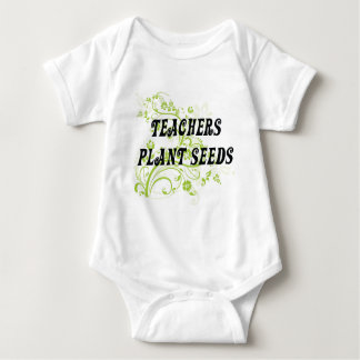 TEACHERS PLANT SEEDS BABY BODYSUIT
