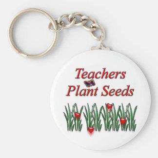 Teachers Plant Seeds Key Chain