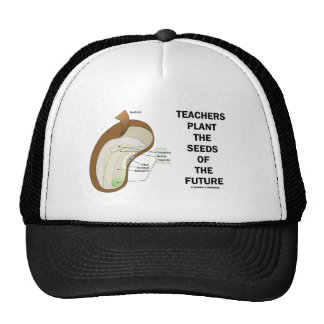 Teachers Plant The Seeds Of The Future (Bean Seed) Hat