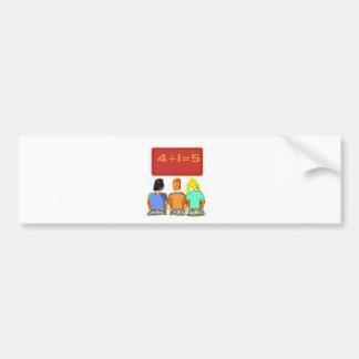 Teachers Products Car Bumper Sticker