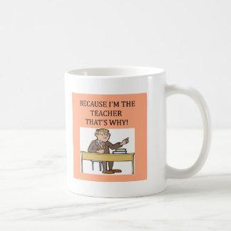 teachers & professors coffee mugs