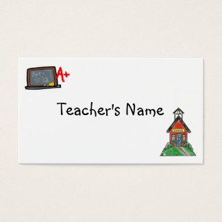 Teachers Profile Card Template