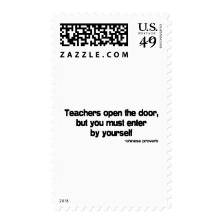 Teachers quote stamps