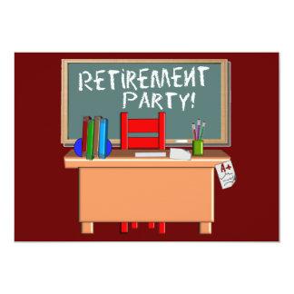 Teachers Retirement Party Invitations