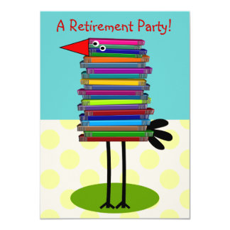 Teachers Retirement Party Invitations