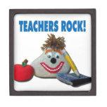 Teachers Rock! Gift Box Premium Jewelry Box