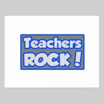 Teachers Rock! Post Card