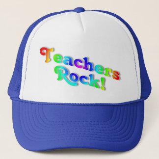 Teachers Rock Trucker Hat