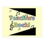 Teachers Rock Tshirts and Gifts Postcard