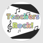 Teachers Rock Tshirts and Gifts Stickers