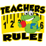 Teachers Rule! Acrylic Cut Outs