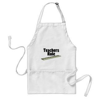Teacher's Rule Adult Apron