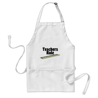 Teacher's Rule Adult Apron