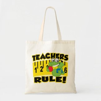 Teachers Rule! bag