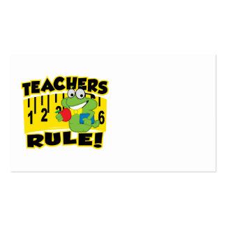 Teachers Rule! Business Card