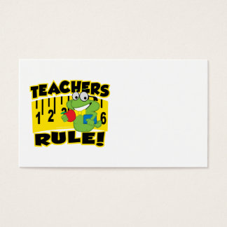 Teachers Rule! Business Card
