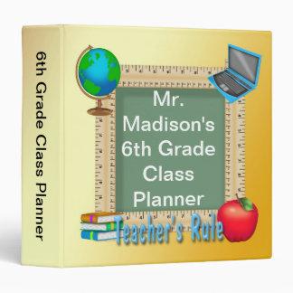 "Teacher's Rule Chalk Board 1.5"" Binder"
