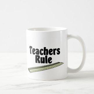 Teacher's Rule Coffee Mug