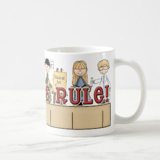 Teachers Rule! Coffee Mug