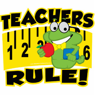 Teachers Rule! Cutout