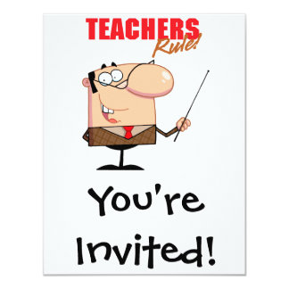 teachers rule male teacher character card