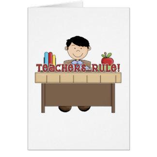 Teachers Rule - Male Tshirts and Gifts Card