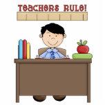 "Teachers Rule sculpture<br><div class=""desc"">design by Scrappin Doodles at www.scrappindoodles.com</div>"