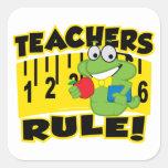 Teachers Rule! Sticker