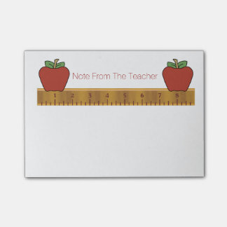 Teacher's Ruler Post-It Note Pad Post-it® Notes