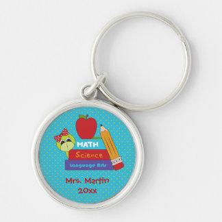 Teachers School Books Keychain