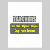 Teachers...Smarter Post Card