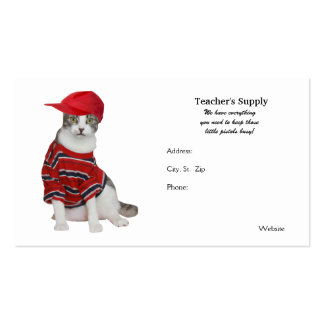 Teacher's Supply Double-Sided Standard Business Cards (Pack Of 100)