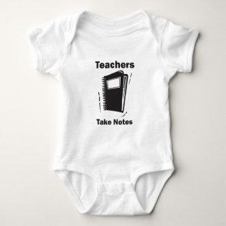 Teachers Take Notes Tshirts
