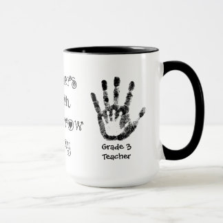 Teachers Touch Tomorrow Today -Personalized Cup