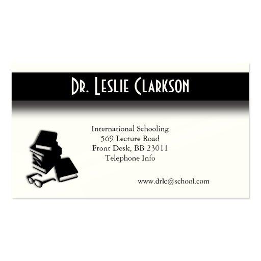 Teachers Unique Business Card Pack Of Standard Business Cards
