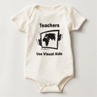 Teachers Use Visual Aids Bodysuit