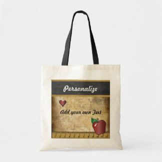 Teacher's Vintage Styled  Bag Canvas Bags