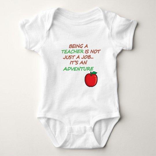 TEACHING ADVENTURE BABY BODYSUIT