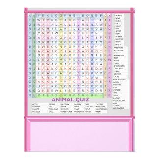 Teaching Aids : Learn Alphabets n Animal Names Letterhead