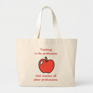 Teaching All Others Jumbo Tote