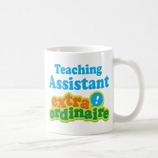 Teaching Assistant Extraordinaire Gift Idea Mug